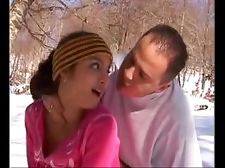 SHAINA BEURETTE FRENCH ARAB SKINNY TEEN FUCKOUTDOOR IN MOUNTAINS DURING SKI