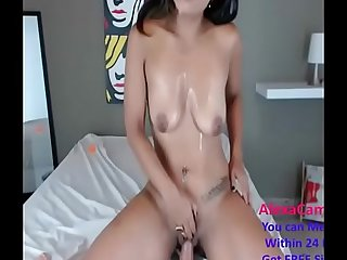 This babe can blow your dick within matter on seconds part 1 (20)