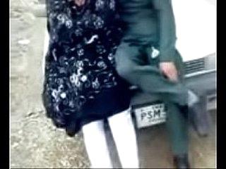 Pashto Girlfriend Kissing