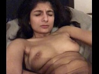 Wife enjoys dildo