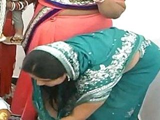 Pakistani lady on a marketplace