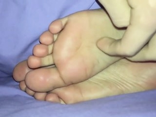 sleeping pakistani girl big feet tickled