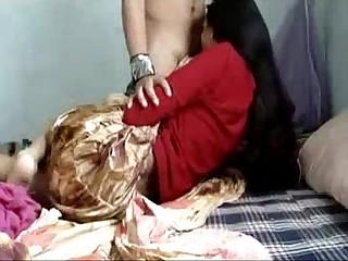 Indian GF Blowing Her Boyfriend