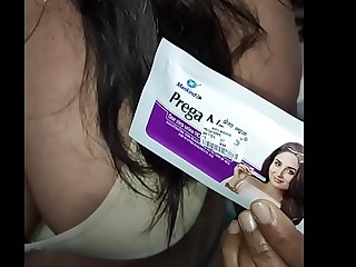 [LIVE] my mom test pregnancy full process (hindi audio)
