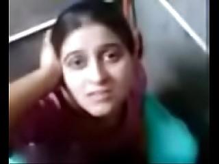 punjabi girl komal giving hot blowjob in toilet and making her boyfriend cum