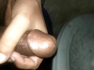 Cumshot of Desi dick