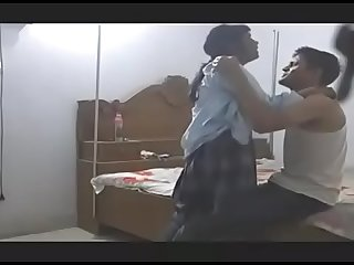 Indian school girl fuck by her teacher