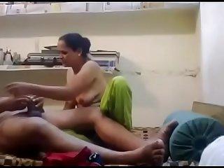 Desi Village Aunty