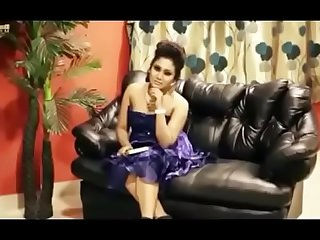 Indian glamer shoot behind scenes