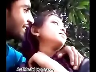 Desi Hijab romance boob press sex Public